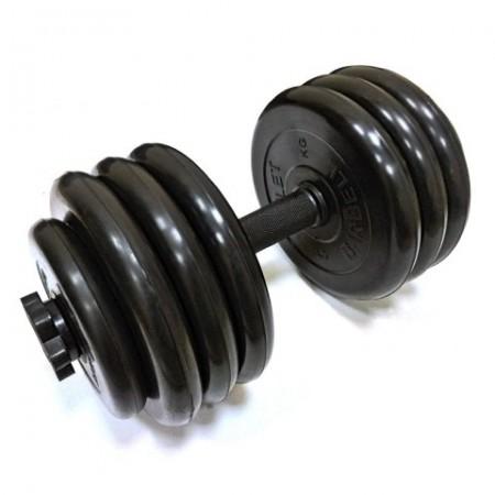 Гантели разборные обрезиненные 36,5 кг