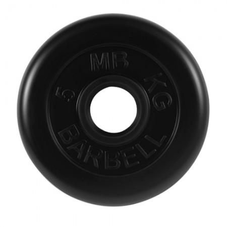 Диски обрезиненные MB Barbell для штанги 5 кг 50 мм