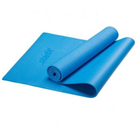 Коврик для йоги 4 мм, синий