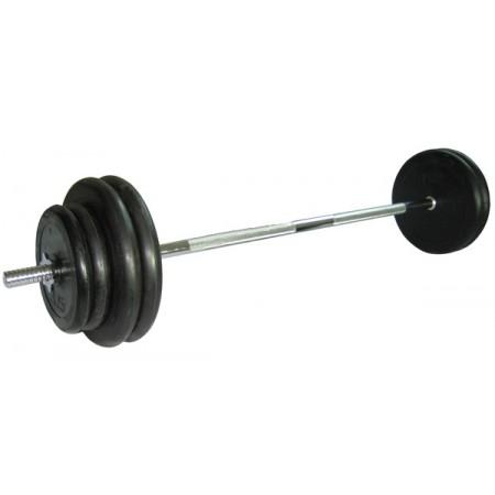 Штанга обрезиненная Atlet Barbell 71 кг