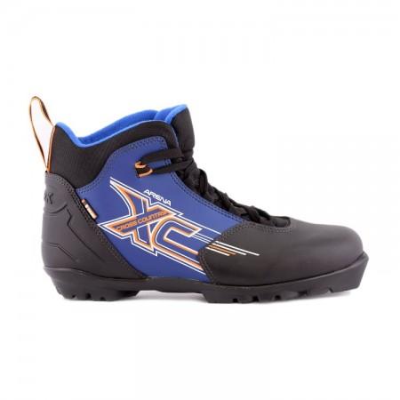 Лыжные ботинки TREK Arena на подошве NNN синие