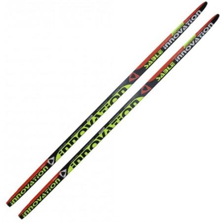 Лыжи пластиковые 160 см со step насечкой