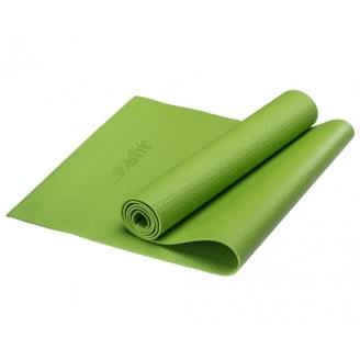 Коврик для йоги 4 мм, зеленый