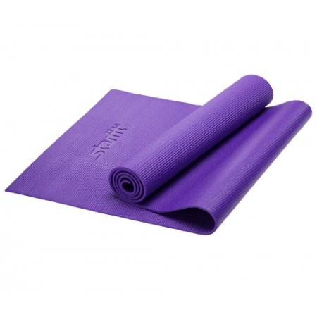 Коврик для фитнеса 6 мм, фиолетовый