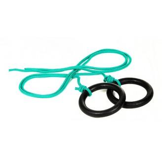 Кольца гимнастические пластиковые,пара