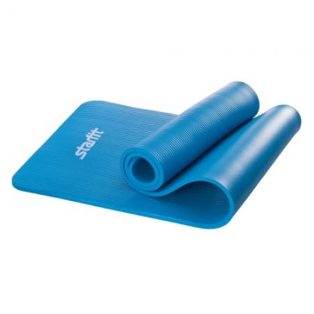 Коврик для фитнеса 10 мм, синий