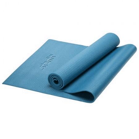 Коврик для фитнеса 6 мм, синий