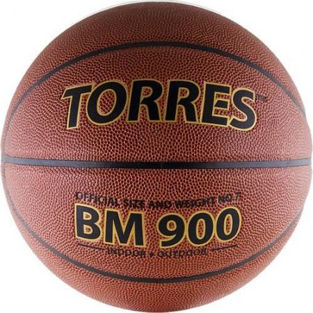 Мяч баскетбольный Torres BM900 Размер 7, мат. ПУ-композит