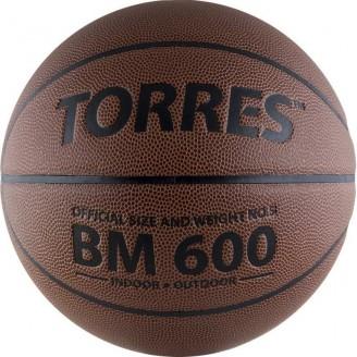 Мяч баскетбольный Torres BM600  Размер 5