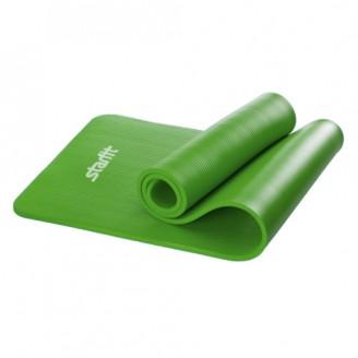 Коврик для фитнеса 10 мм, зеленый