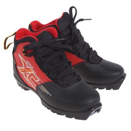 Лыжные ботинки TREK Arena на подошве NNN красный
