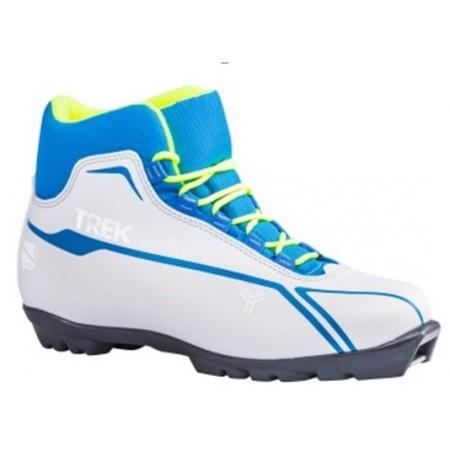 Лыжные ботинки TREK SPORTIKS на подошве NNN,синий