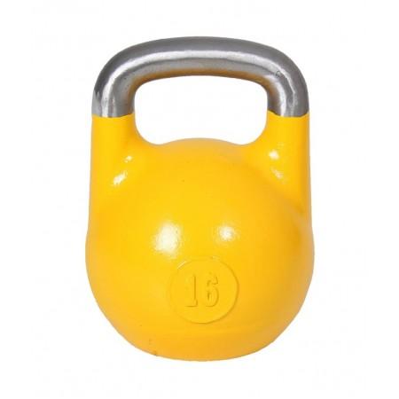 Гиря соревновательная 16 кг (желтая)
