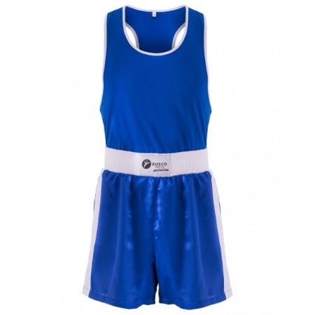 Форма боксерская BS-101, детская, синий Rusco