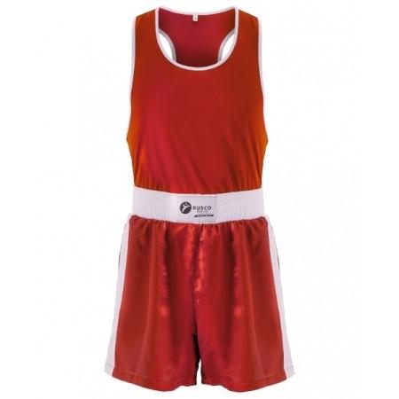 Форма боксерская BS-101, детская, красный Rusco