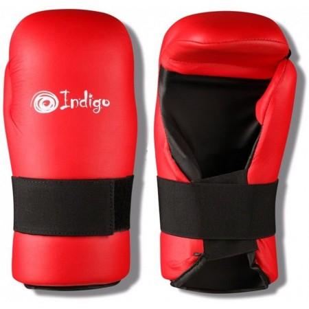 Накладки для тхэквондо Indigo,красный