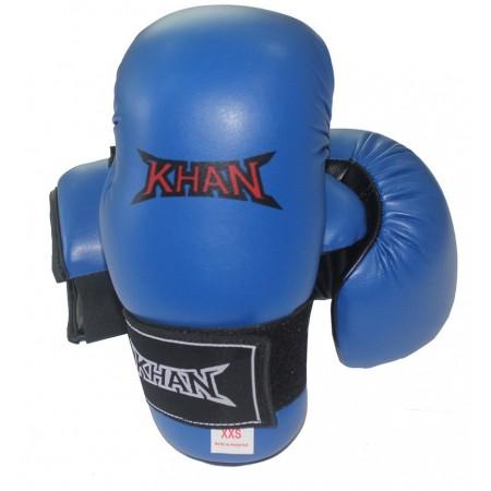 Накладки для тхэквондо Khan синие