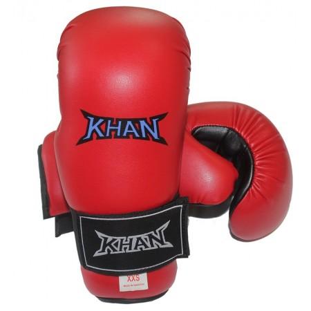 Накладки для тхэквондо Khan красные