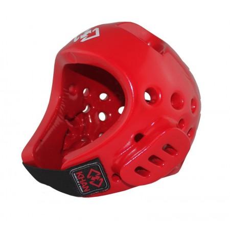 Шлем для тхэквондо Khan красный