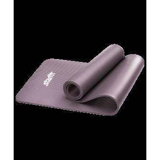 Коврик для фитнеса 10 мм, серый