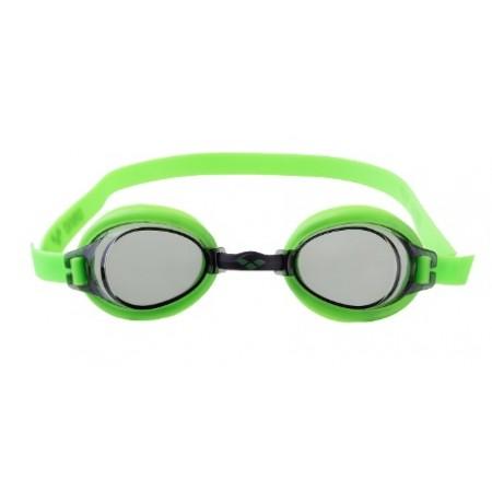 Очки для плавания детские Arena Bubble 3 Junior, lime/smoke