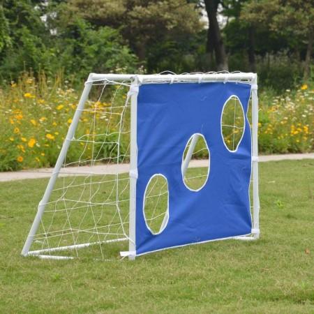 Футбольные ворота 120 х 80 х 55 см и тент для отработки ударов