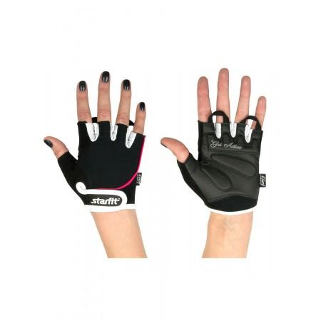 Перчатки для фитнеса женские, черные