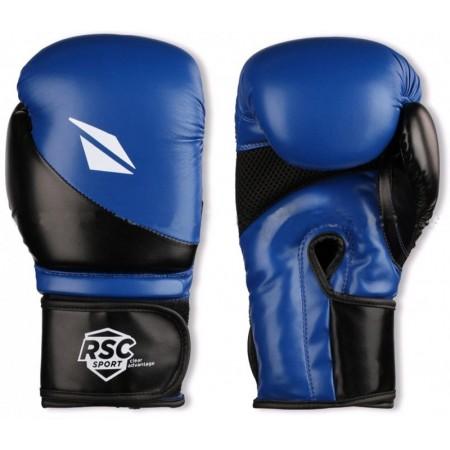 Перчатки боксерские RSC 12 oz, синие