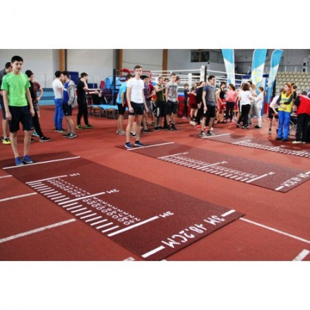 Дорожка разметочная для прыжков в длину с места 4100х1250х8 мм