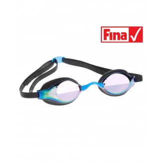 Стартовые очки MadWave Record breaker Rainbow, black