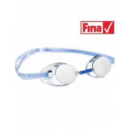 Стартовые очки MadWave Racer SW Mirror, azure