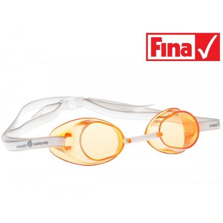 Стартовые очки MadWave Racer SW, orange