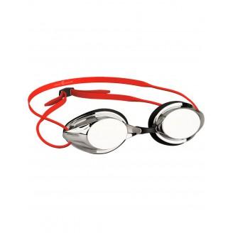 Стартовые очки MadWave STREAMLINE Mirror, Red/Metallic