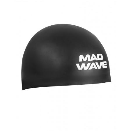Шапочка для плавания MadWave D-CAP FINA  Approved, black