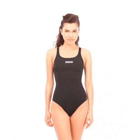 Купальник для плавания совместный Arena Solid Swim Pro Black/White