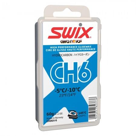 Мазь скольжения Swix CH6X Blue -5C/-10C