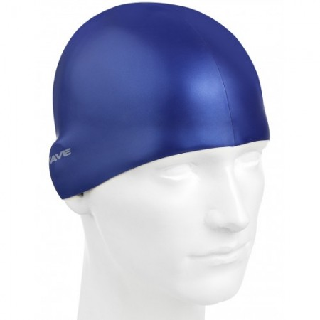 Шапочка для плавания MadWave Metal Silicone Solid