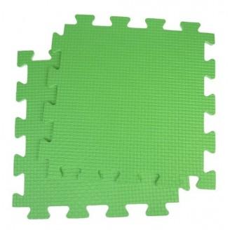 Будо-мат 52х52х1,8 см, зеленый