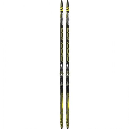 Лыжи пластиковые Fischer RCS CL PLUS SOFT NIS 192 см с креплением NNN Rottefella Exercise