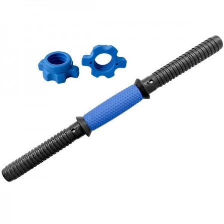 Гриф для гантели пластиковый 40 см 25 мм